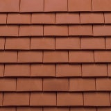 Sandtoft Humber Plain Clay Eaves Tile - Natural Red