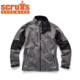 Scruffs Pro Softshell Jacket in Charcoal - M