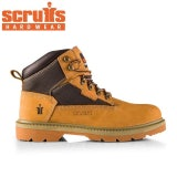 Scruffs Twister Safety Boot in Tan - Size 7
