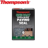 Thompsons One Coat Patio & Block Paving Seal - 5L (Pack of 2)