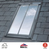VELUX GGL UK04 SD5N2 Conservation Window for 8mm Slate - 134cm x 98cm