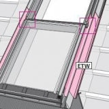 VELUX ETW WK34 0000E Tile Flashing for Fixed Window Combination